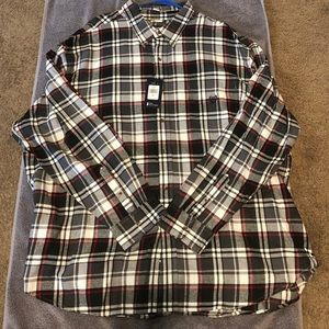 CHAPS Men's Big&Tall Long-Sleeve Shirt 4X 4xb 4xl